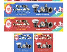 #55 for Set of Banners Needed to Promote Huge Easter Sale by millertelier