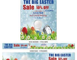 #44 for Set of Banners Needed to Promote Huge Easter Sale by satishandsurabhi