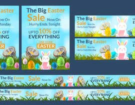 #52 for Set of Banners Needed to Promote Huge Easter Sale by owlionz786