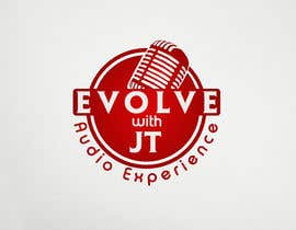 """#46 for Podcast LOGO design for """"The EVOLVE with JT Audio Experience"""" by logodesign24"""