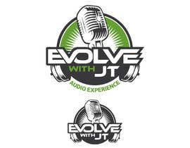 """#68 for Podcast LOGO design for """"The EVOLVE with JT Audio Experience"""" by dandrexrival07"""