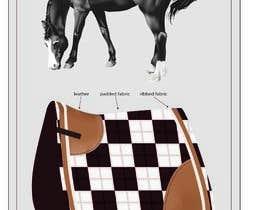 #12 for Design a Saddlepad by martarbalina