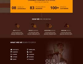 #21 for Design a website for a Chocolate Factory (Homepage only, PSD) by sourabh1604ph2