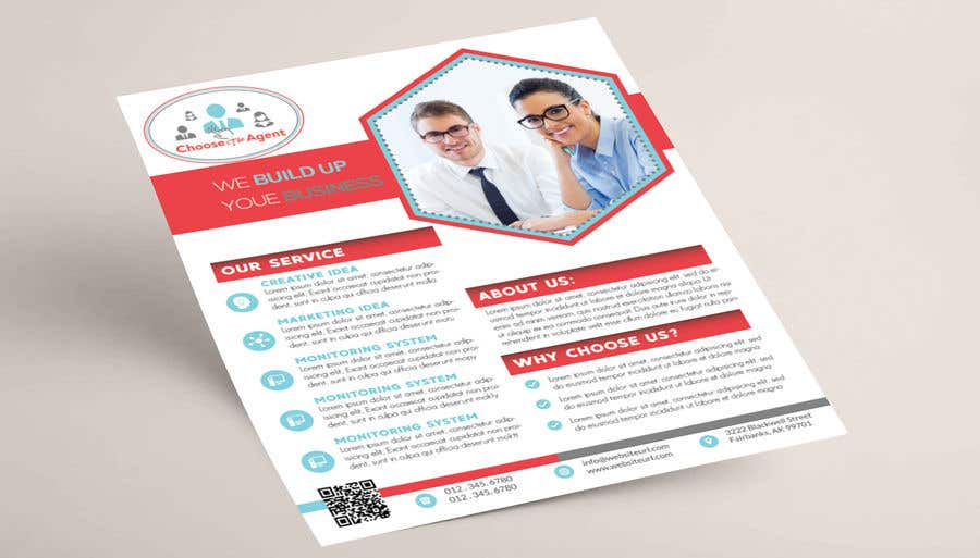 entry 17 by mra590d7e9031d1d for need a one page flyer template
