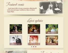 #27 para Design a Website Mockup for Event Planner Blog por Udovas