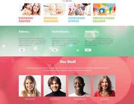 #8 para Design a Website Mockup for Event Planner Blog por xoomer