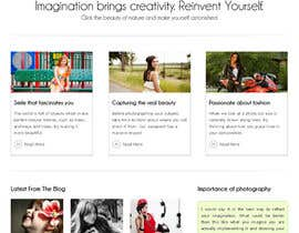 #25 para Design a Website Mockup for Event Planner Blog por xoomer