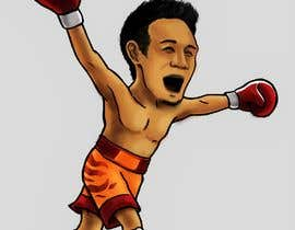 "#61 for Design an Asian Boxer Cartoon Character with 4 different punching actions/posts all in full body. (*Suggest to best use ""Srisaket Sor Rungvisai"" as the referral for the character) by oaseqomaravw"