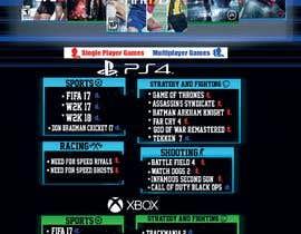 #26 , Design a menu card for Game studio 来自 emanadel96