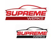 Graphic Design Contest Entry #123 for Logo Design for Supreme Werks (eCommerce Automotive Store)