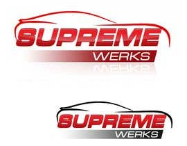 nº 141 pour Logo Design for Supreme Werks (eCommerce Automotive Store) par designerartist