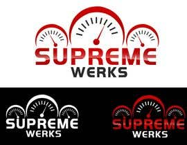 designerartist tarafından Logo Design for Supreme Werks (eCommerce Automotive Store) için no 119