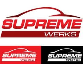 designerartist tarafından Logo Design for Supreme Werks (eCommerce Automotive Store) için no 90