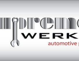 Javiermejia tarafından Logo Design for Supreme Werks (eCommerce Automotive Store) için no 232