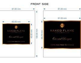 #32 para Design a Logo for Naked Flame Collection to Label Candle Votives -- 2 por salutyte