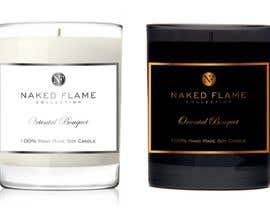 #42 para Design a Logo for Naked Flame Collection to Label Candle Votives -- 2 por salutyte