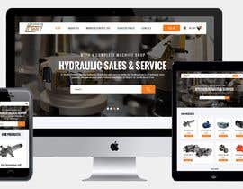 #12 for Website design for a company selling and service Hydraulic parts by webmastersud