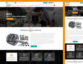 #21 for Website design for a company selling and service Hydraulic parts by sudpixel