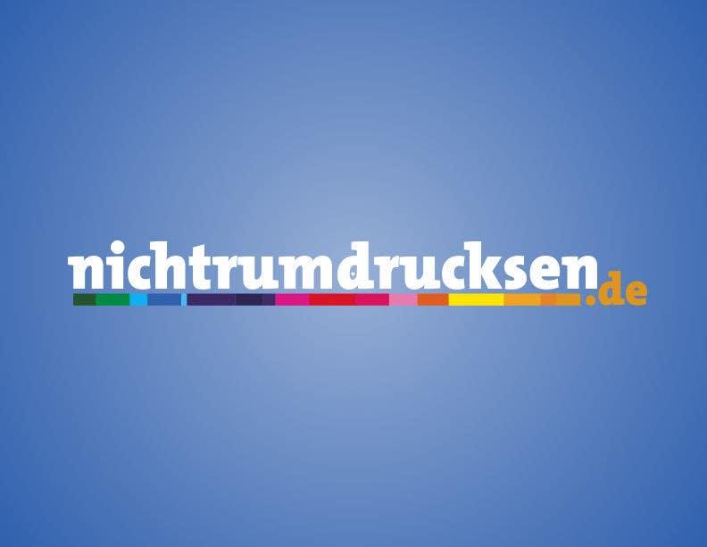 Konkurrenceindlæg #585 for Logo Design for nichtrumdrucksen.de