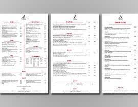 #54 untuk Restaurant Menu Design oleh vigs01