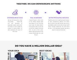 #18 para Blockchain and Cryptocurrency IDEA Platform Website Landing Page por greenarrowinfo