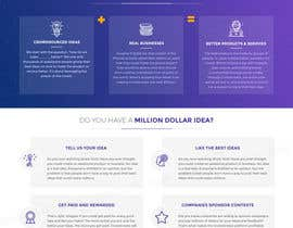 #10 para Blockchain and Cryptocurrency IDEA Platform Website Landing Page por tamamanoj