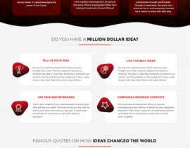 #21 para Blockchain and Cryptocurrency IDEA Platform Website Landing Page por tamamanoj