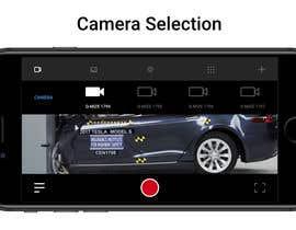 #20 untuk Design a mockup for a industrial camera control app oleh VladBalusescu