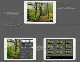 #28 untuk Design a mockup for a industrial camera control app oleh frire