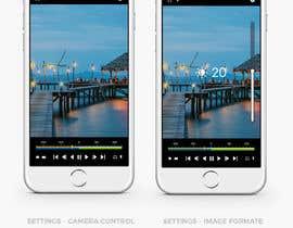 #21 untuk Design a mockup for a industrial camera control app oleh Creoeuvre