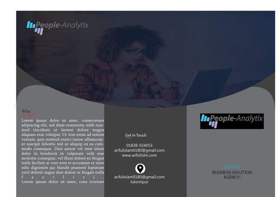 Proposition n°18 du concours Design a Product Brochure/Factsheet