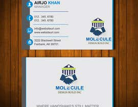 #43 para 2 sided Business Card Layout & Logo por airjoislam