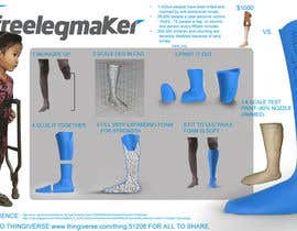 nº 122 pour Freelancer.com Makerbot Replicator 2 3D Model Contest! par inov8ive