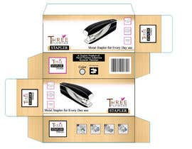 #21 for desktop stapler machine packaging box by shoaibnoman