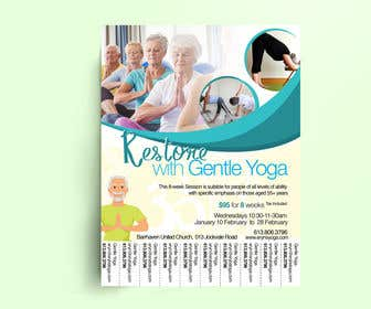Image of                             Create a Yoga Template Flyer