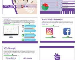 "#17 for Design a Brochure- ""Purple Dot Report"" by citanowar"