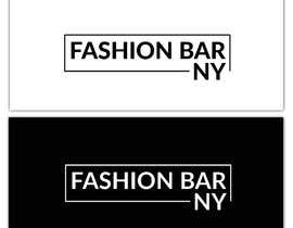 #245 for Logo for Fashion Bar NY by Cloudea