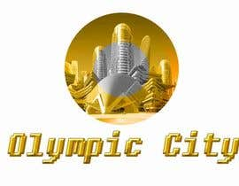 #1 for Logo skyline view of a 2D smart city that is cyber, high-tech utopia with futuristic buildings and overlay indicating smart technology features. by mayatindie