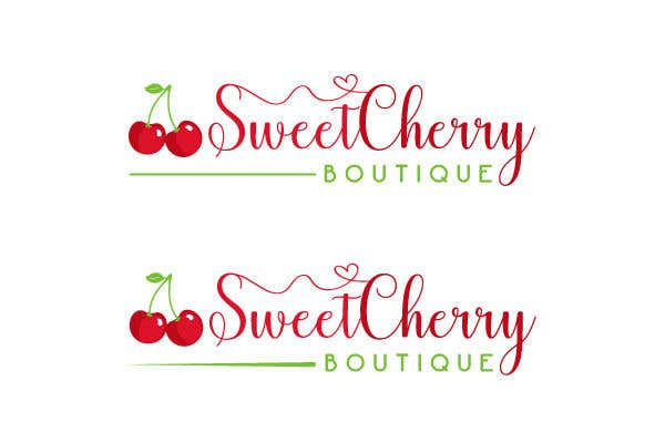 Contest Entry #24 for Hi! I need a logo designed please for my baby clothes/home made baby products business. The business name is: Sweet Cherry Boutique. I would like an image of a cherry somewhere in the logo please.