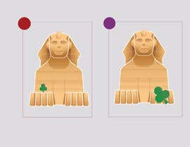#14 for Urgent Need a logo with a combination of Paul and the Sphinx, please include a small shamrock and green in design. by FahadPro