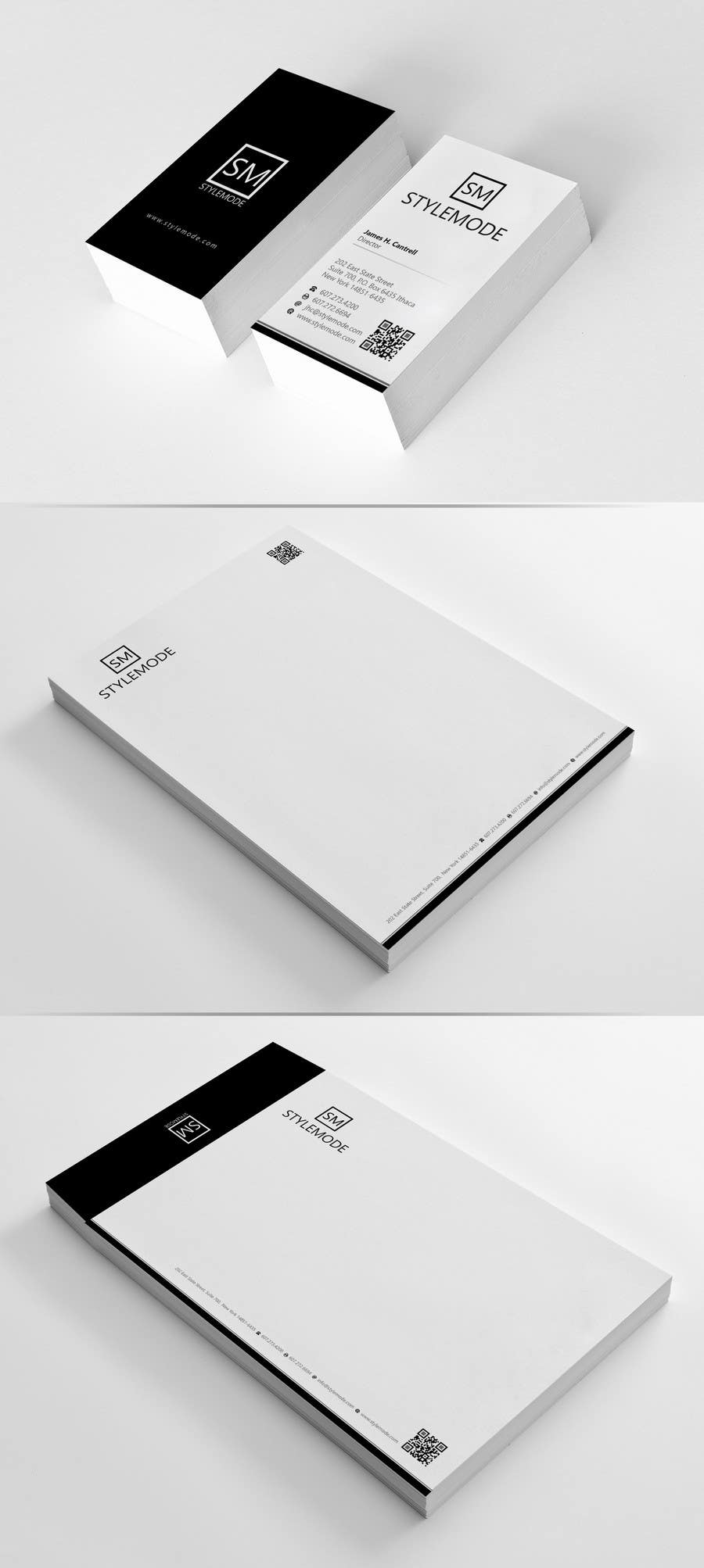 #22 for Stationery Design for STYLEMODE, a online clothing and accessories retailer by Brandwar