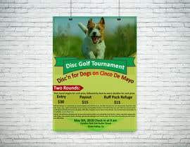 #12 for Disc Golf Poster af design6476