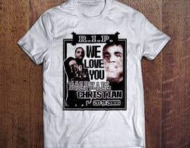 #5 untuk Memorial- R.I.P.'s t-shirts oleh imagencreativajp