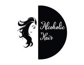 #57 for Design a Logo for Alcoholic Hair by akram013