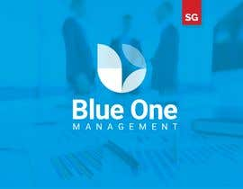 #3 para Need a logo deisgned for a management company called Blue One Management, colours sky blue and white writing por SidahmedGZM