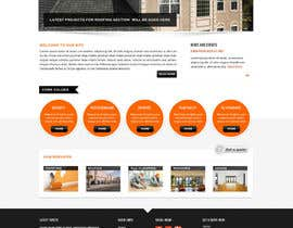 #6 for Wordpress Theme Design for Specialized Roofing & Contracting Inc. af Pavithranmm
