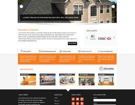 #4 para Wordpress Theme Design for Specialized Roofing & Contracting Inc. por Pavithranmm