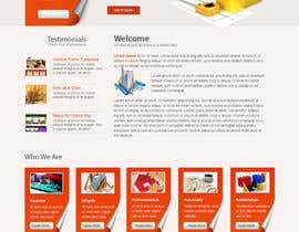 #19 para Wordpress Theme Design for Specialized Roofing & Contracting Inc. por hibernicus