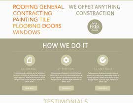 #14 untuk Wordpress Theme Design for Specialized Roofing & Contracting Inc. oleh dutchez8