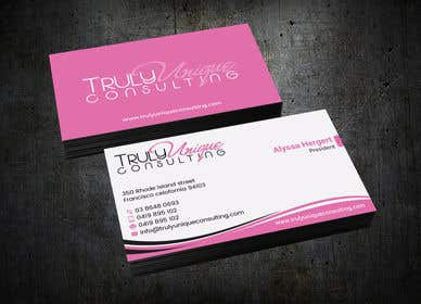 Image of                             Consulting Company Business Card...
